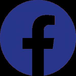 Logo Facebook azul redondo